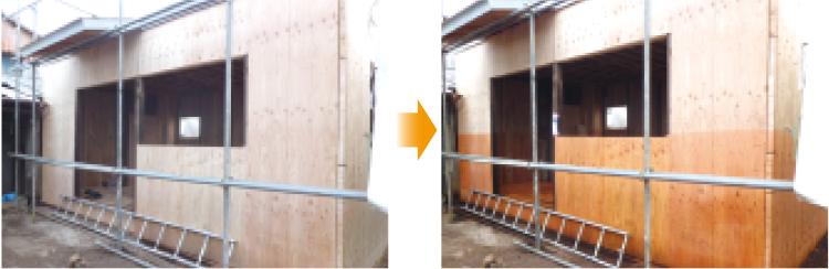 シロアリ新築予防(2 x 4)