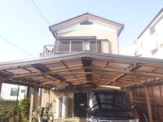 カーポート屋根交換工事